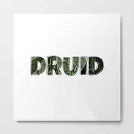 DRUID Metal Print