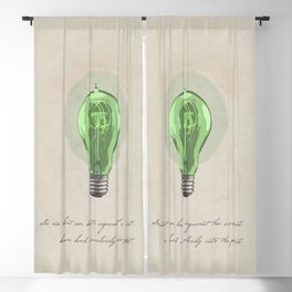 The Green Light Blackout Curtain