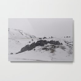 Snow Castle Metal Print