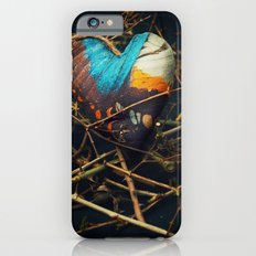 Butterfly heart amongst thorns Slim Case iPhone 6s