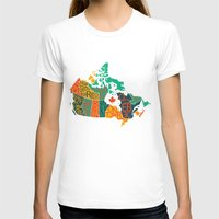 canada T-shirts featuring Canada by Mohit Gupta