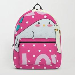Sweet little love birds Backpack