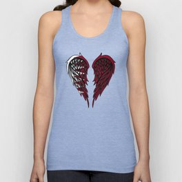 Qatar wings art Unisex Tank Top