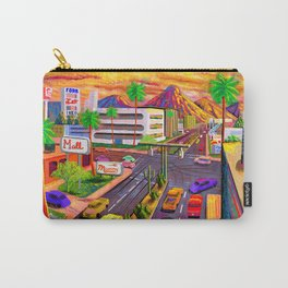 Camelback Road Sunset Phoenix Arizona Carry-All Pouch