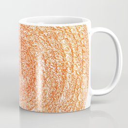 An Orange Wishes, asemic calligraphy for home and office decoration Coffee Mug