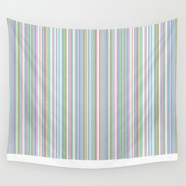 Soft Pinstripes Wall Tapestry