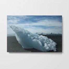 Iceberg from Vatnajökull Metal Print