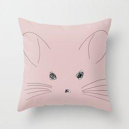 Chinchilla Throw Pillow