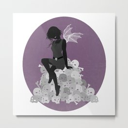 Bone Fairy Metal Print