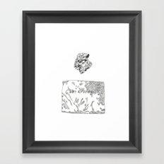 Gruta do Maquiné Framed Art Print