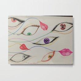 eye ivy Metal Print