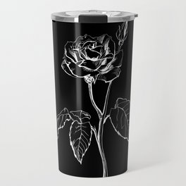 Black Rose Travel Mug
