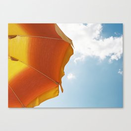 Italian UmBrELLA (on film) Canvas Print