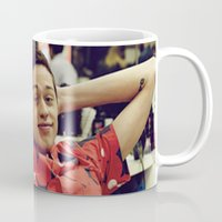 snl Mugs featuring Chill by F*** Me Pete Davidson