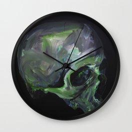 green sativa Wall Clock