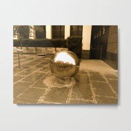 Big Ball Bearings in London  Metal Print