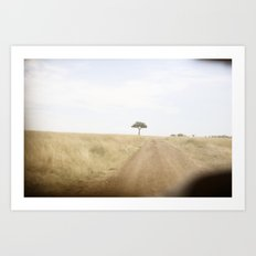blurred vision::kenya Art Print