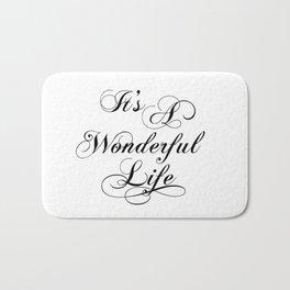 It's A Wonderful Life Bath Mat