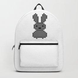 Grey bunny Backpack