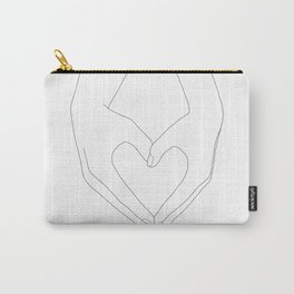 Hands of Love Carry-All Pouch
