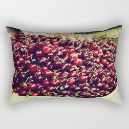Summer Cherries Rectangular Pillow