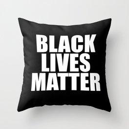 Black Lives Throw Pillow