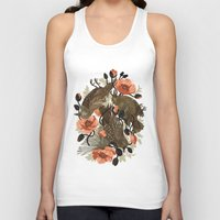 dead Tank Tops featuring Spangled & Plumed by Teagan White