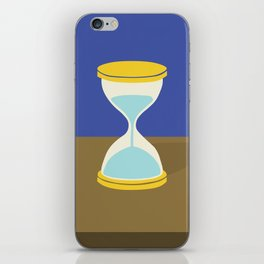 Time is Almost Up! iPhone Skin