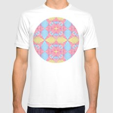 Diamonds are forever MEDIUM Mens Fitted Tee White