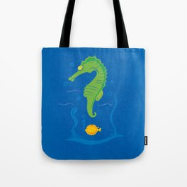 MANY QUESTION BLUE Tote Bag