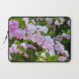 Double Flowering Plum Laptop Sleeve
