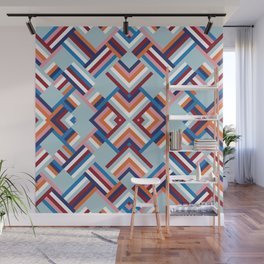 Herringbone Pattern No.2 Wall Mural