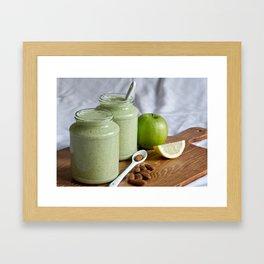 Breakfast Smoothie Framed Art Print