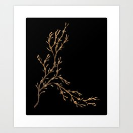 Knotted Wrack Art Print