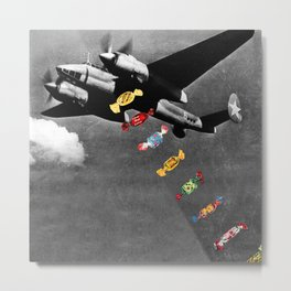 Candy Bomber Metal Print
