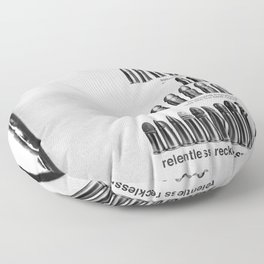 Relentless Recklessness 2 Floor Pillow