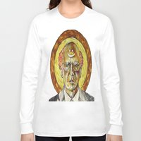 larry Long Sleeve T-shirts featuring Larry David by Carson Kaiser