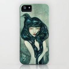 Oracle of the sodden raven iPhone SE Slim Case
