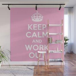 Keep Calm Wall Mural