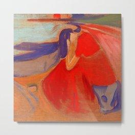 "Edvard Munch ""Melancholy"" Metal Print"