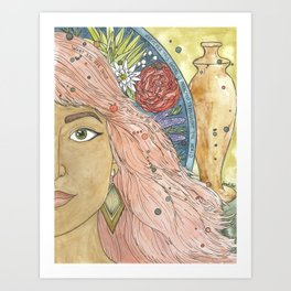 Mary of Bethany Art Print