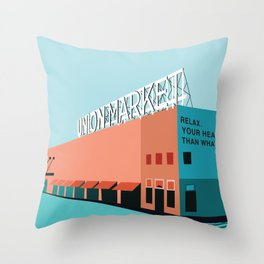 Union Market Washington D.C. Throw Pillow