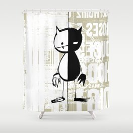 minima - milieu Shower Curtain