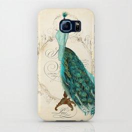 Peacock bustle mannequin iPhone Case