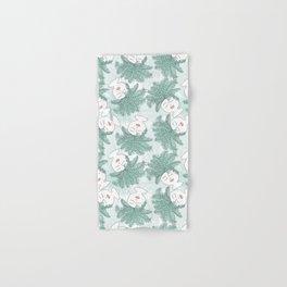 Fern-tastic Girls in Sage Green Hand & Bath Towel