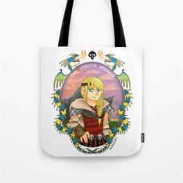 Astrid Hofferson- The Spirited Warrior Tote Bag