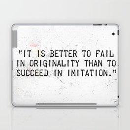 Herman Melville quote 2 Laptop & iPad Skin