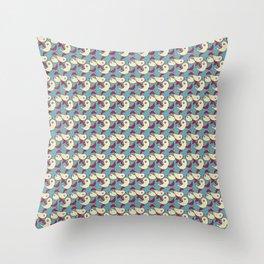 Birds - Deeppink Throw Pillow
