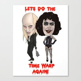 Rocky Horror Picture Show Time Warp Canvas Print
