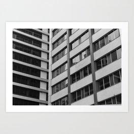 B&W City Art Print